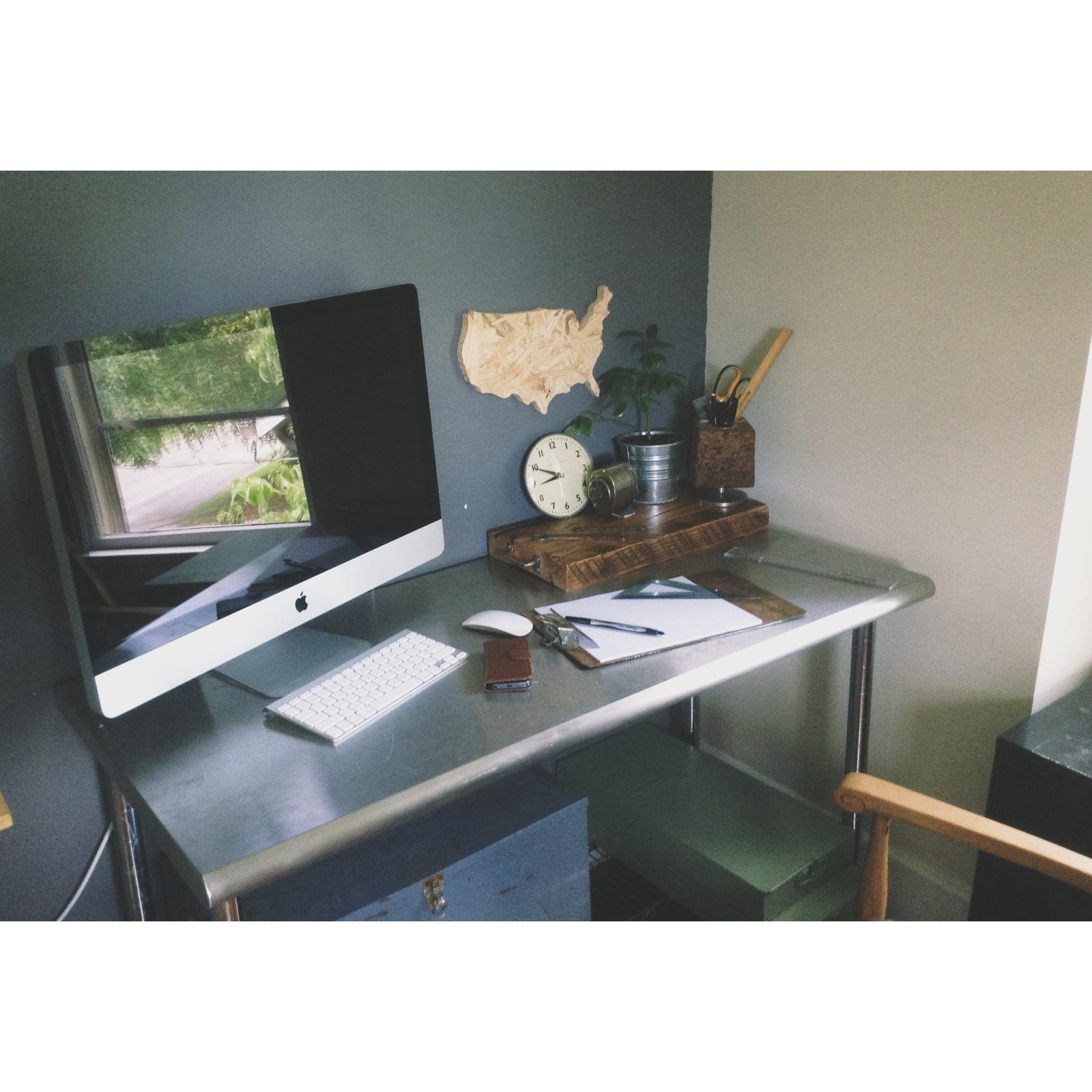 James Worsham home office