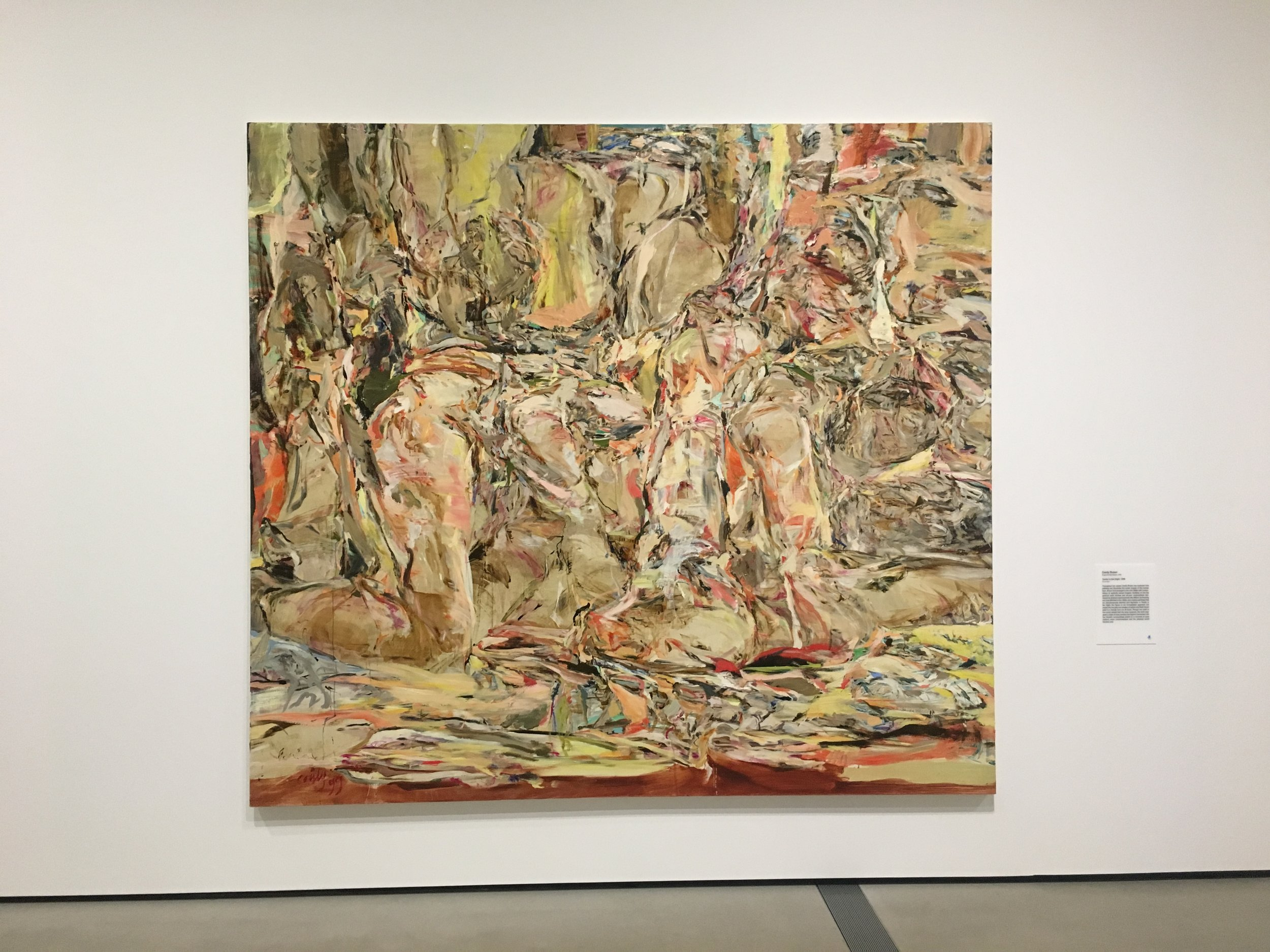Gorgeous, sexy Cecily Brown that gets more risqué the longer you look.