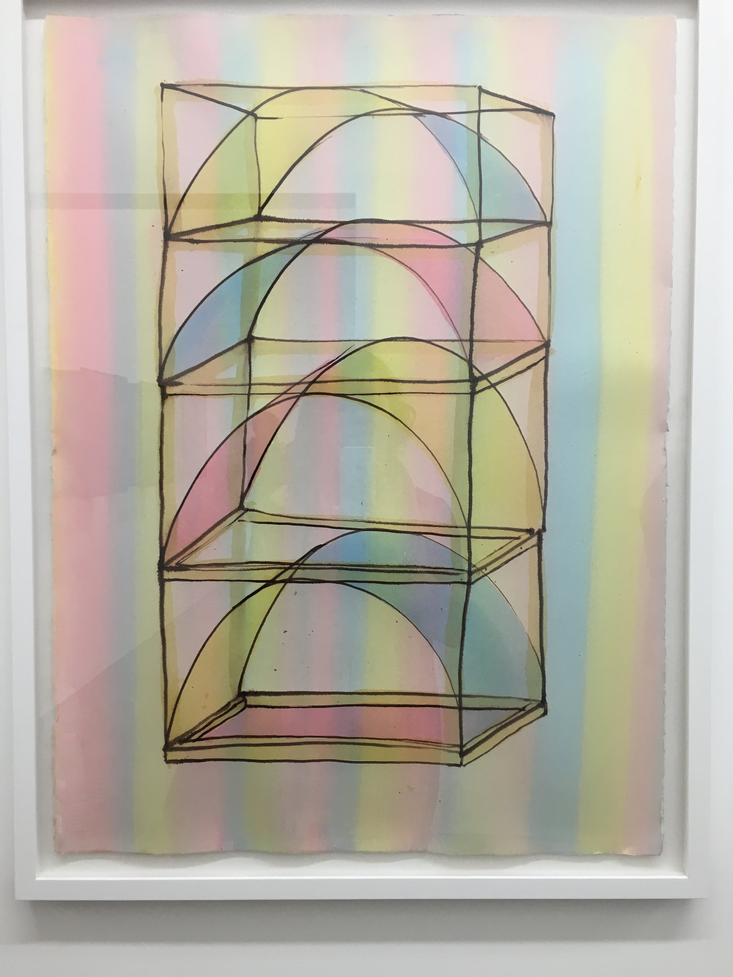I heart Thomas Linder's work. Love this illustration of a large sculpture at IBID.
