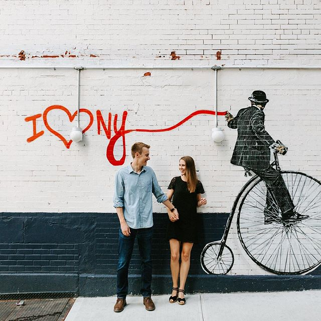 Chuck ❤️ Kelsea . . . #engagement #Manhattan #I❤️NYC #nyc #nickwalker #uppereastside #UES #mural #architecture #wanderingphotographers #weddingphotographer #weddinginspo #weddinginspiration #newyorkcity #muralart #njweddingphotographer #nyweddingphotographer #hudsonvalleyweddingphotographer #radcouples #engagedlife #moonlightdaydreamers #engagedtothedetails #street #I❤️ny