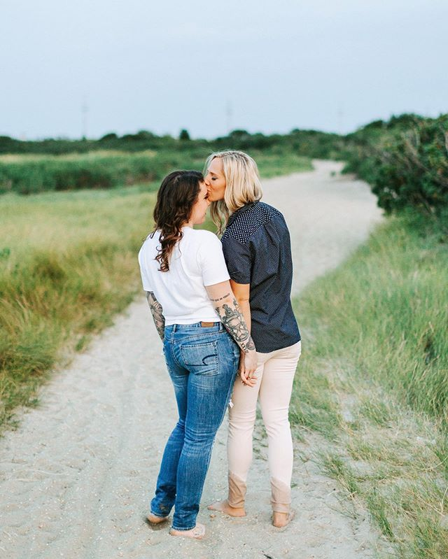 Best friends for life . . . #beach #sandhookbeach #sandyhooknj #sunset #summer #dogdays #hydebride #engagement #happiness #jerseyshore #lgbt #lgbtwedding #adventurouswedding #love #fun #lovestory #dirtybootsandmessywair #adventure #couplegoals #goals #moonlightdaydreamers #radcouple #weddinginspo #weddingphotographer #njweddingphotographer