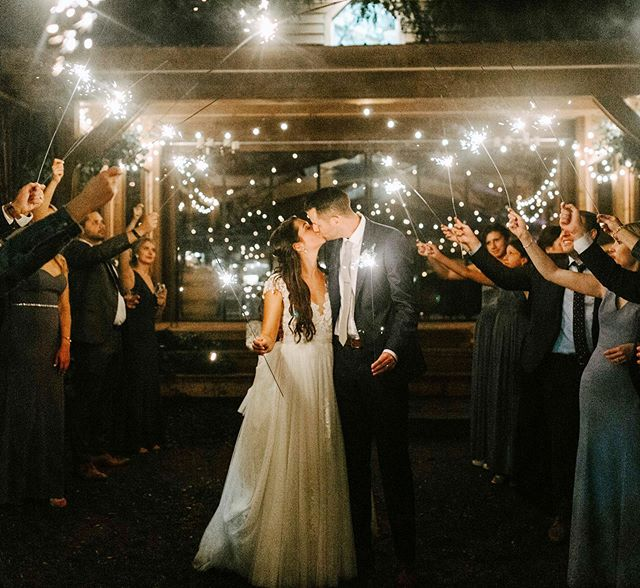 What a way to end the night for Saturday's wedding!! Thank you so much for having us, Gabby + Kevin! Let the sparks fly ⚡️❤️ . . . #redmaplevineyard #sparklers #sparklersendoff #wedding #weddingdress #love #nature #light #barn #dressesafterdark #night #weddingnight #farmwedding #hudsonvalleyweddingphotographer #nightphotography #redmaplevineyardwedding #stringlights #hydebride #engagedlife #adventurouswedding #radcouples #radlovestories #weddinginspiration