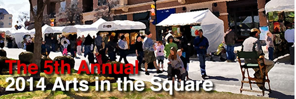 "We would love to say ""hi"" in person!  Stop by our booth at Arts in the Square this weekend!"