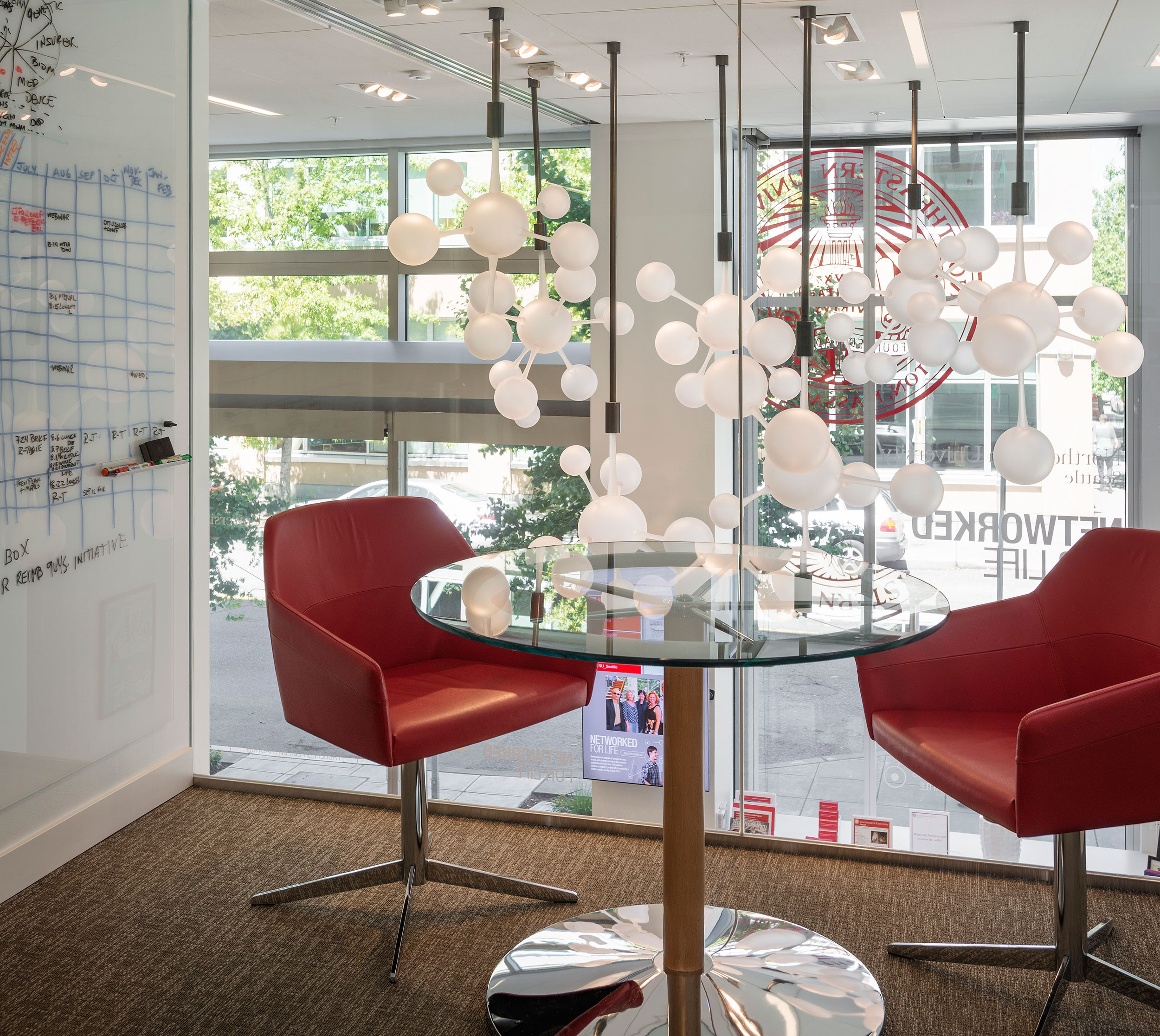 Canlis Glass | Seattle Glass Artist | Connectivity Installation
