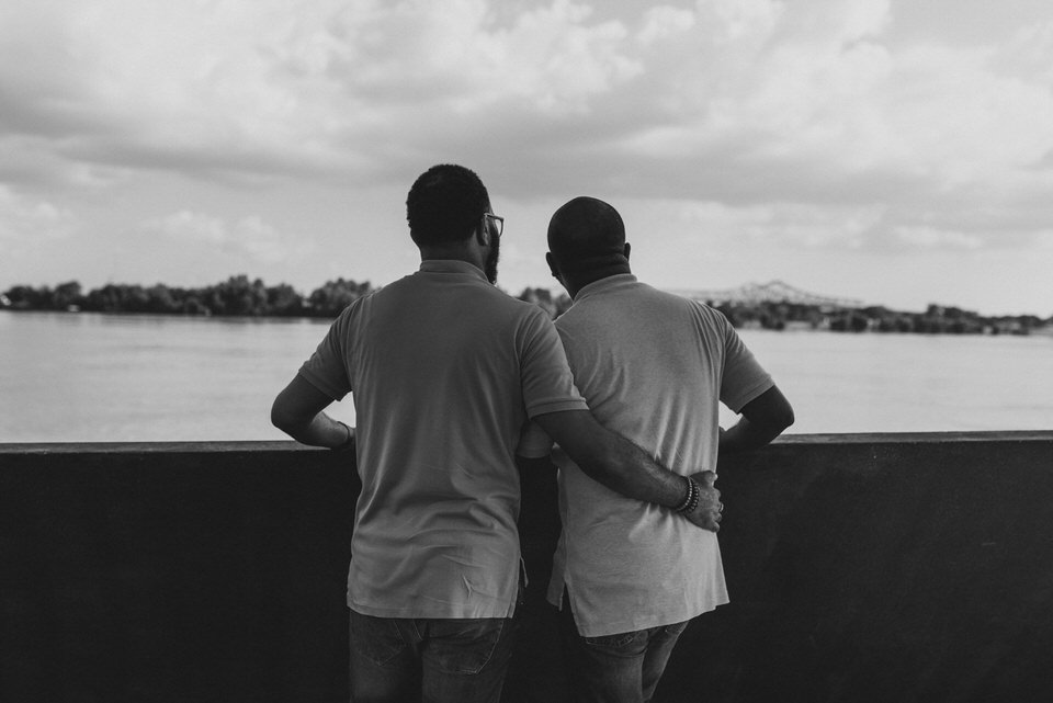 new orleans wedding photographers same sex engagement