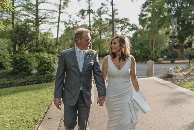 Pre-wedding strolls through Audubon Park.👌