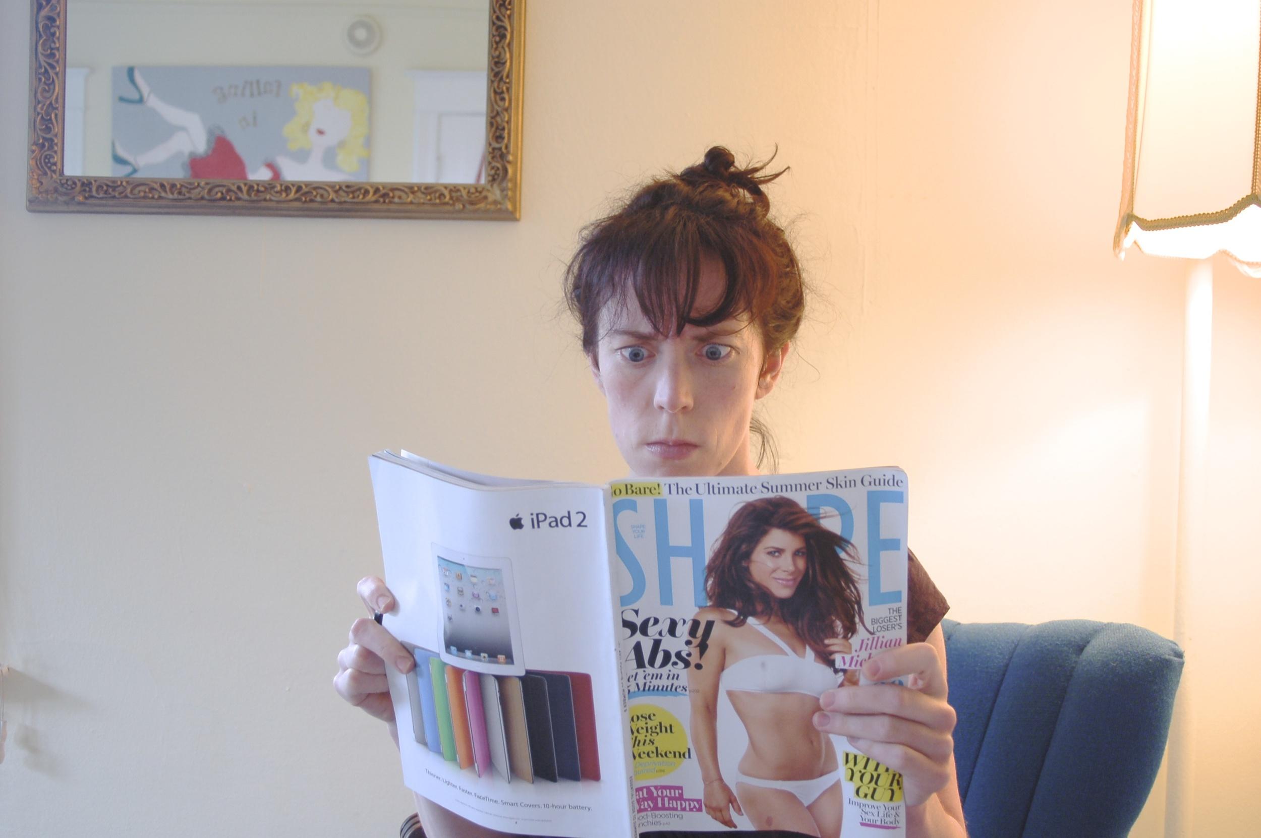 Jillian Michaels Shape Magazine 2