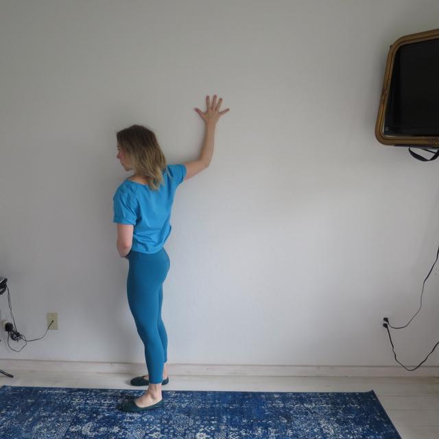 Bent Arm Chest Stretch