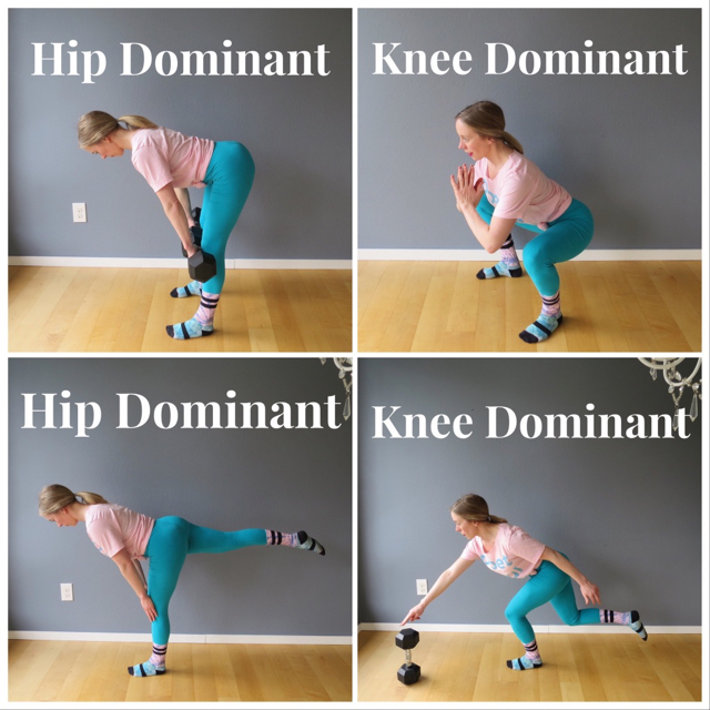 Hip Dominant Knee Dominant Continuum