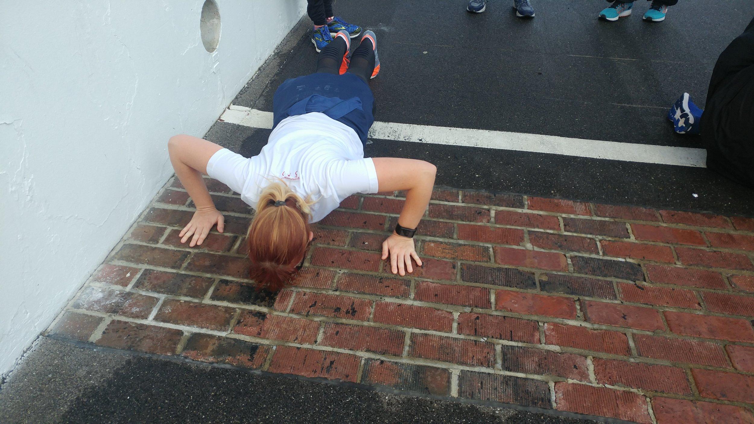 Kissing The Bricks!