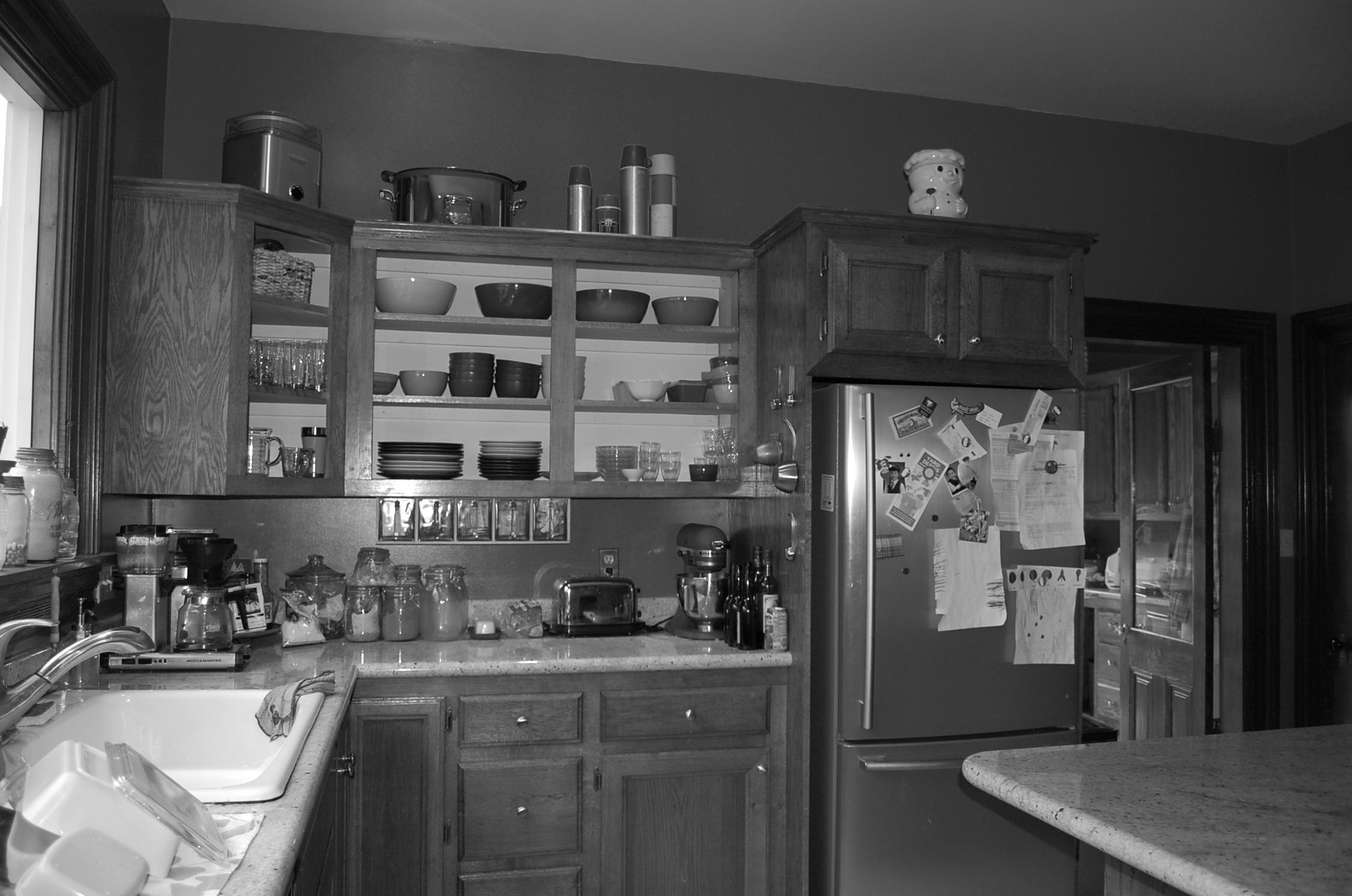 """""""Before"""" kitchen"""