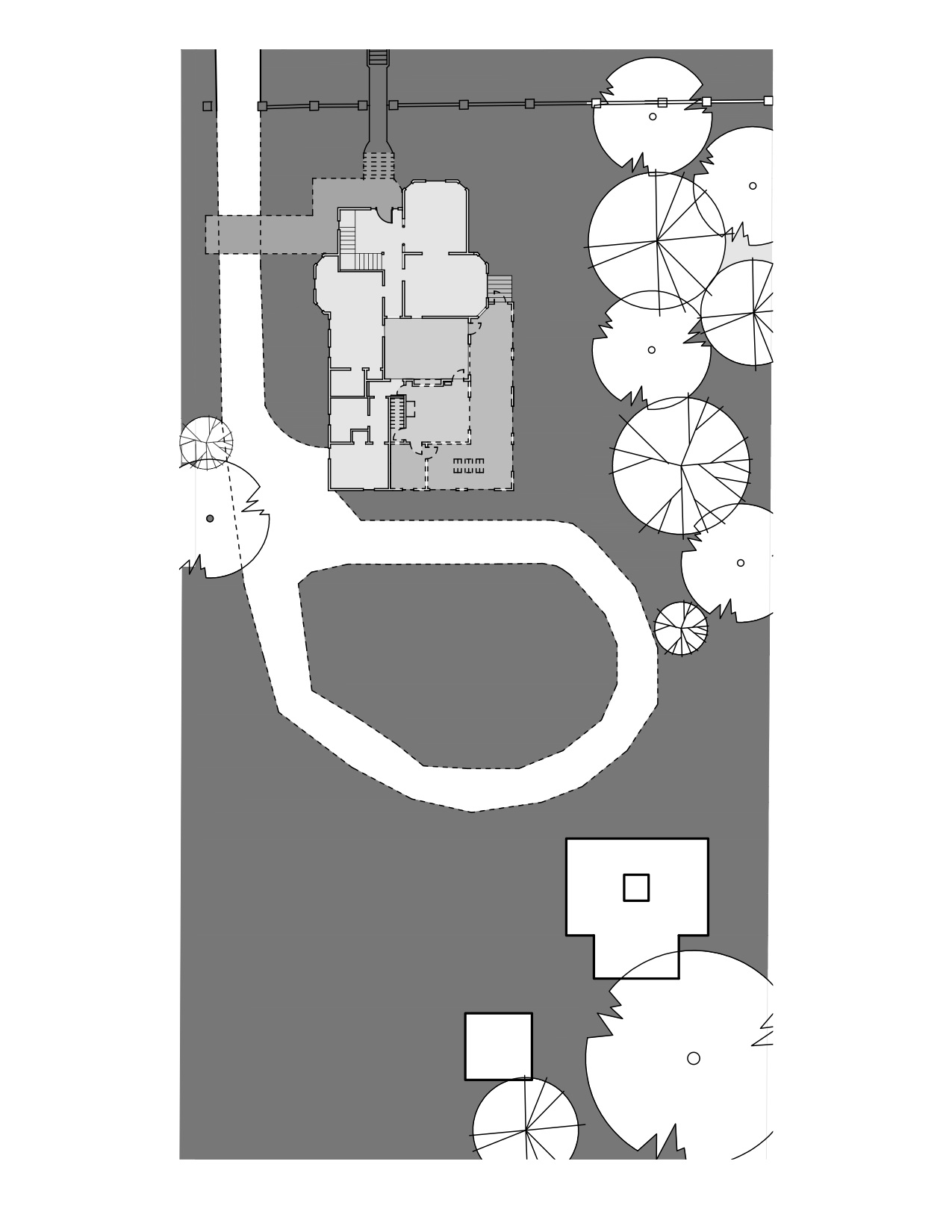 """""""before"""" site plan"""