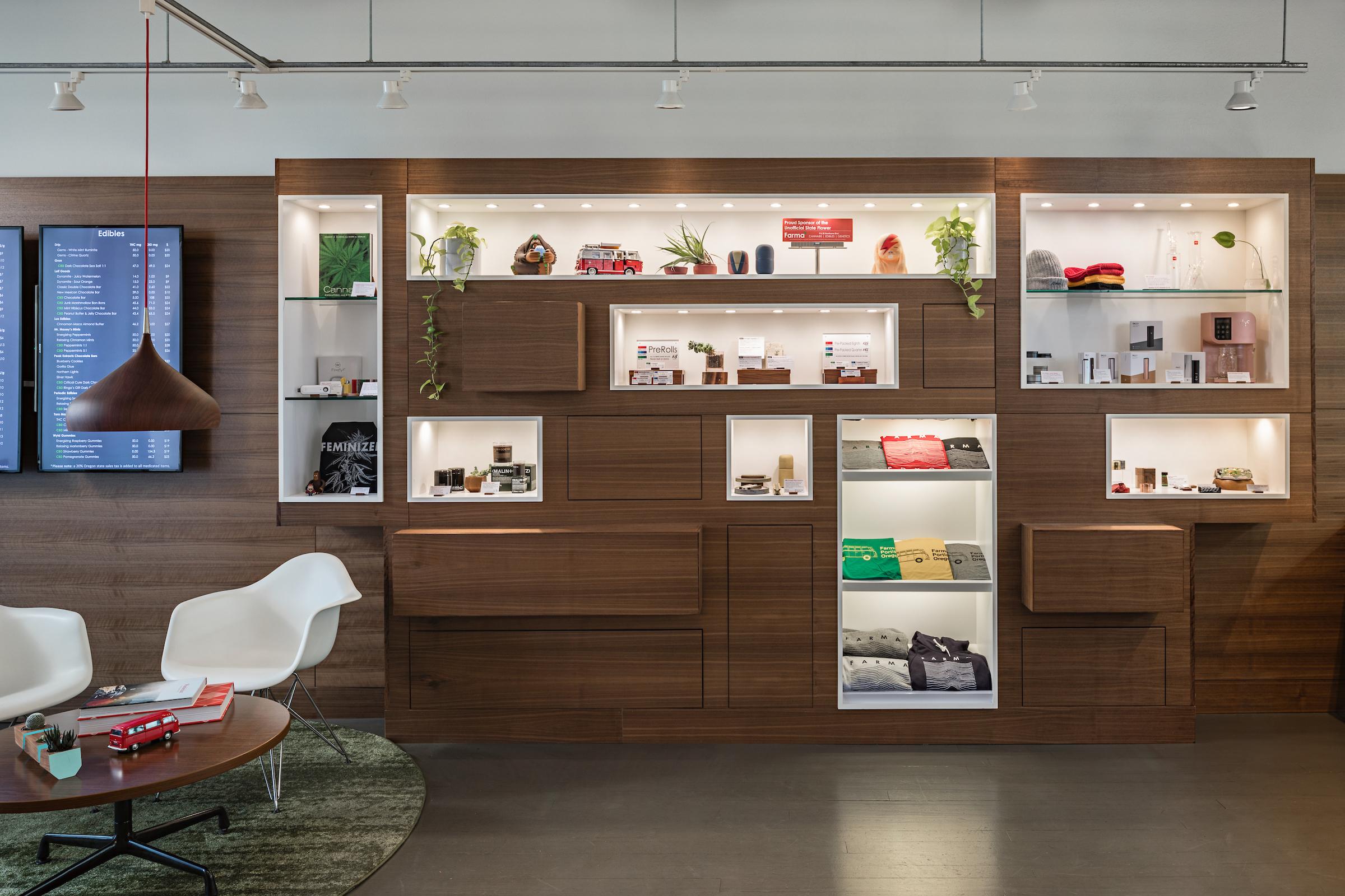 Custom cabinetry and lighting