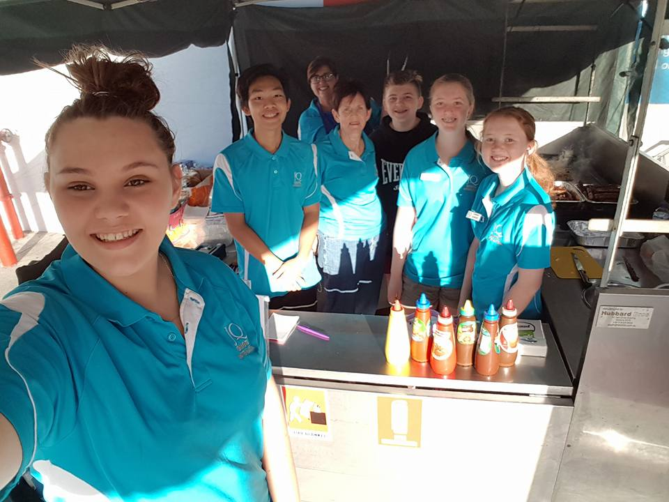 Our latest fundraising event at bunnings, bethania