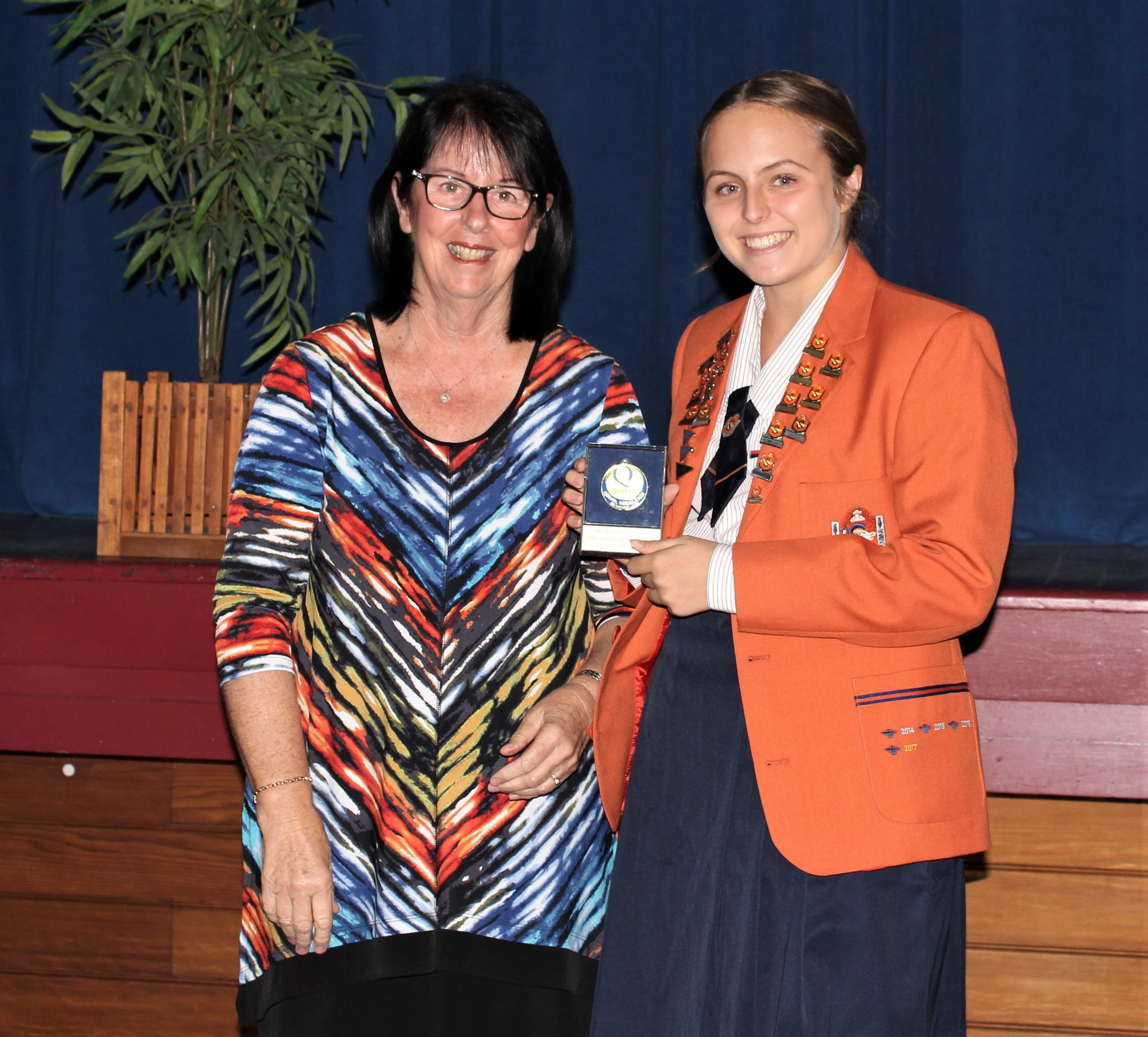 28 First Place with Judge Margaret George.JPG
