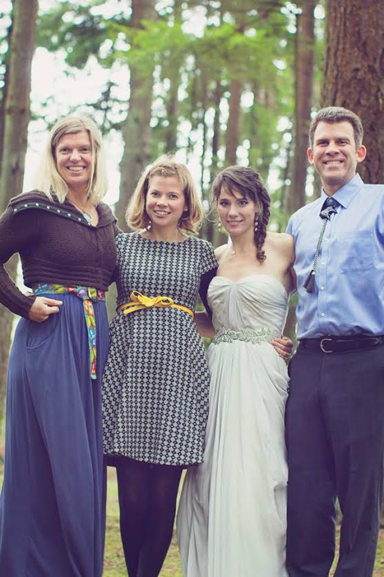 Photo, left to right: Coddington, Ramona Flatz (biology research assistant), Swift and Craig