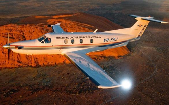 PILATUS PC12 NG Royal Flying Doctor