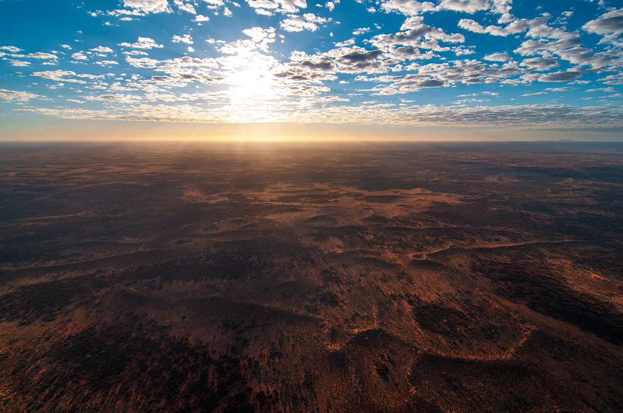 Desert vista, Northern Territory