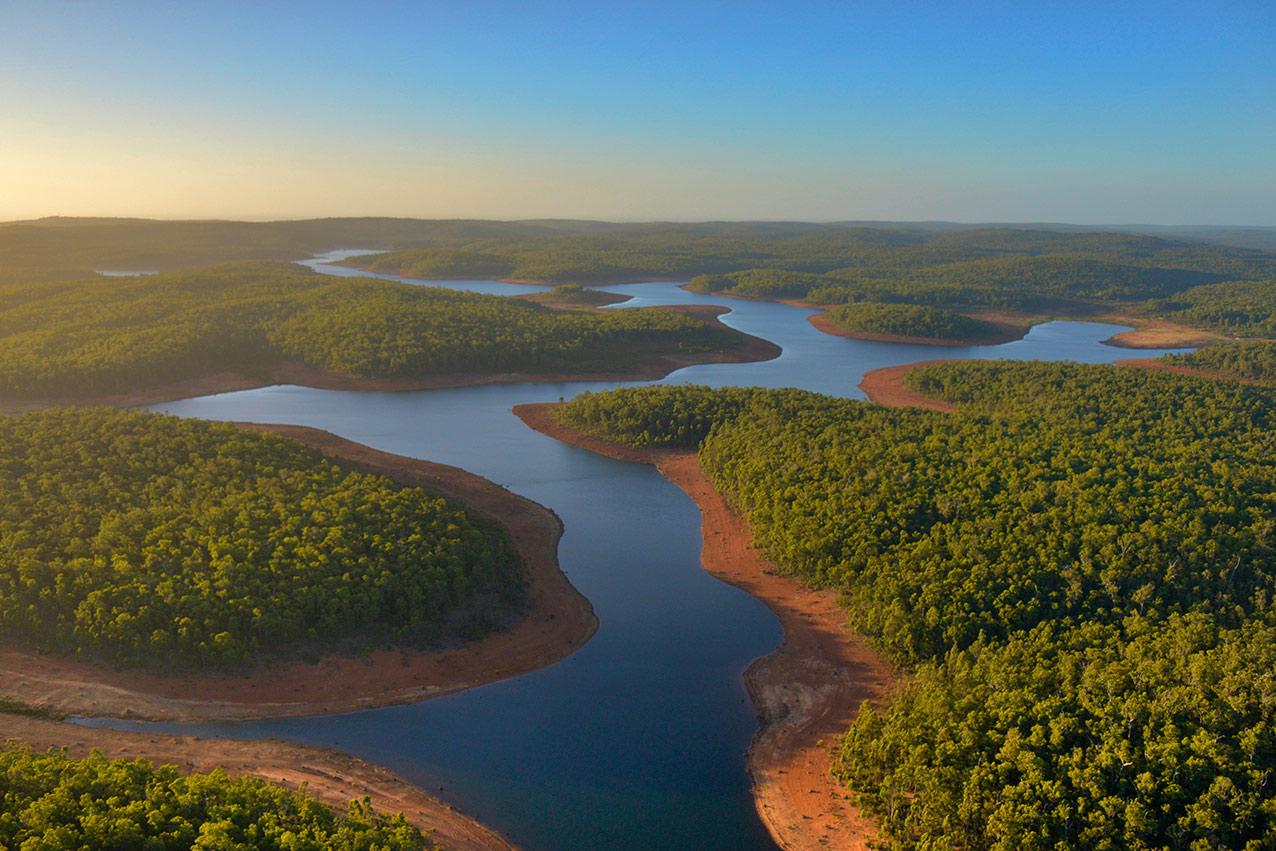 Dwellingup lakes, Western Australia