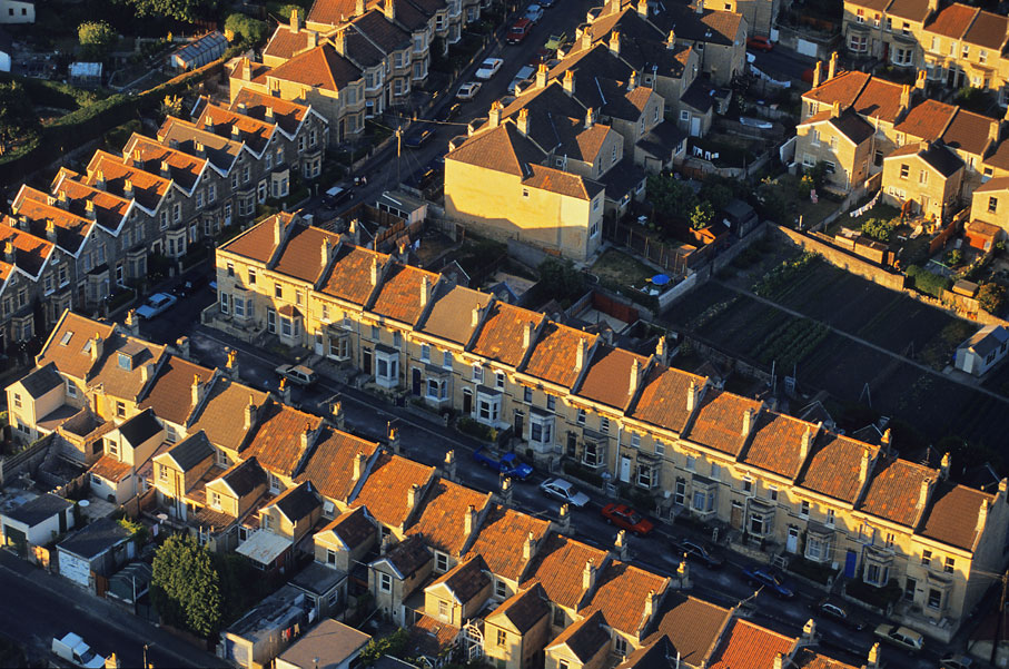 Terraced houses, Bath, UK