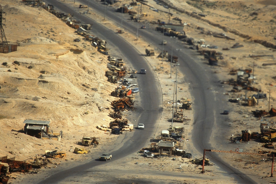 The road to Basra, 1991