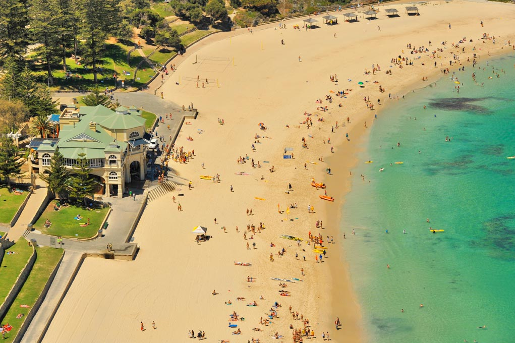 Indiana Cafe, Cottesloe Beach
