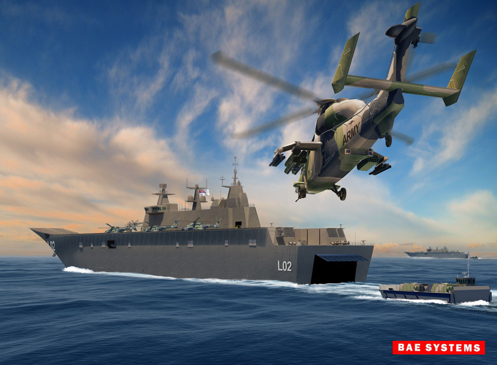 BAE Systems LDH rendering in Photoshop