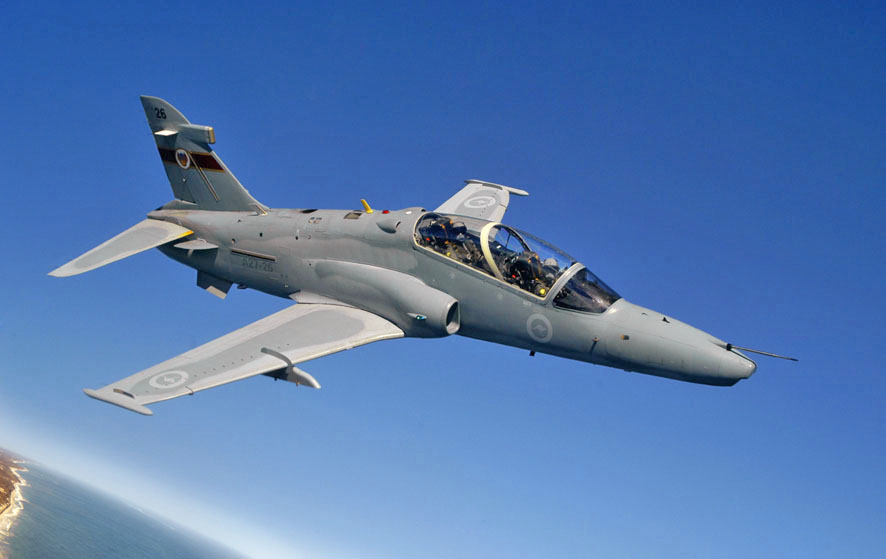 RAAF BAE Hawk trainer