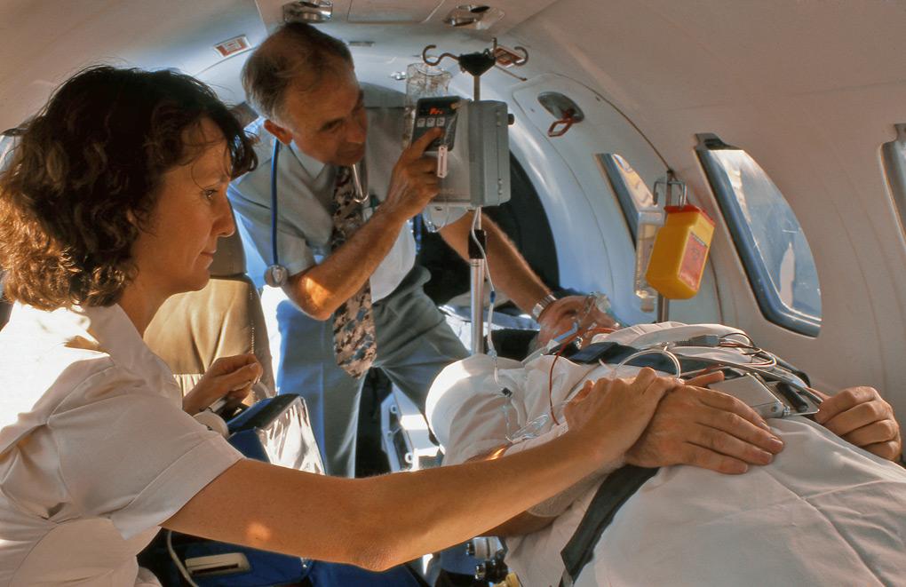 Medical air evacuation, Pearl Aviation