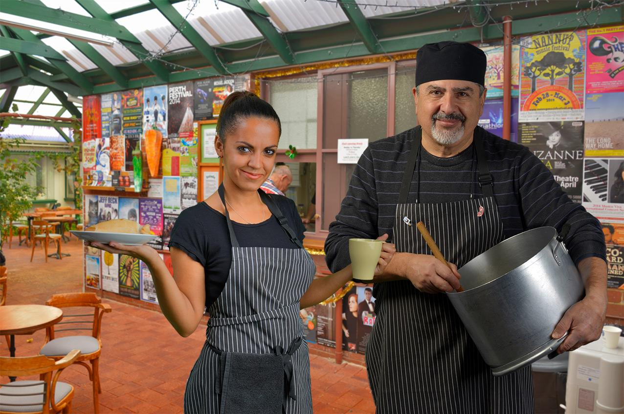 Tresillian Art Centre chefs, Western Australia