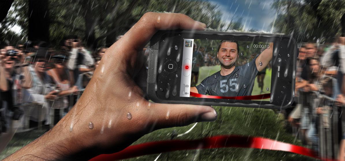 LifeProof phone case shoot