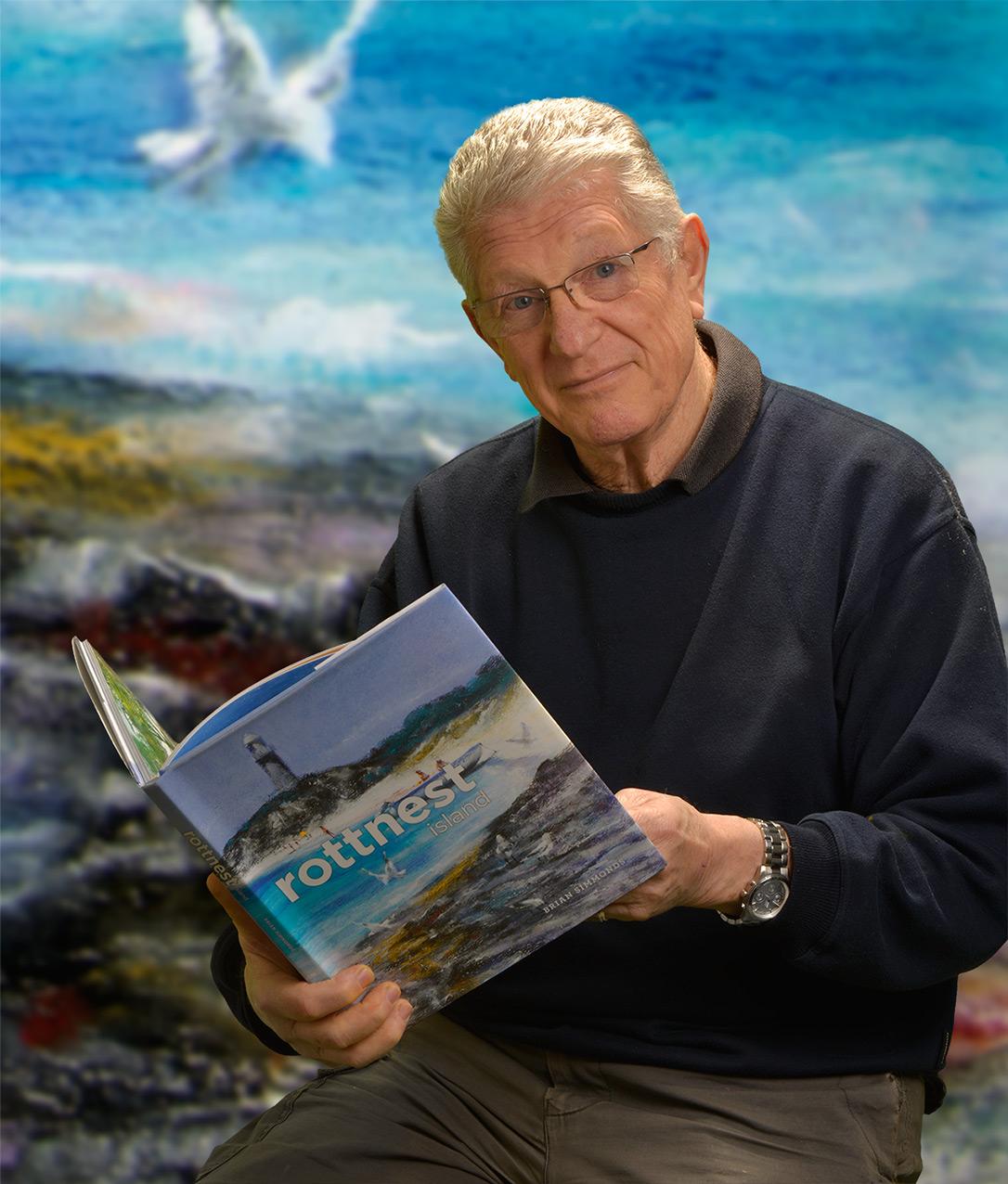 Western Australian artist Brian Simmonds