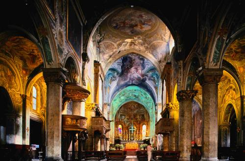Monza church