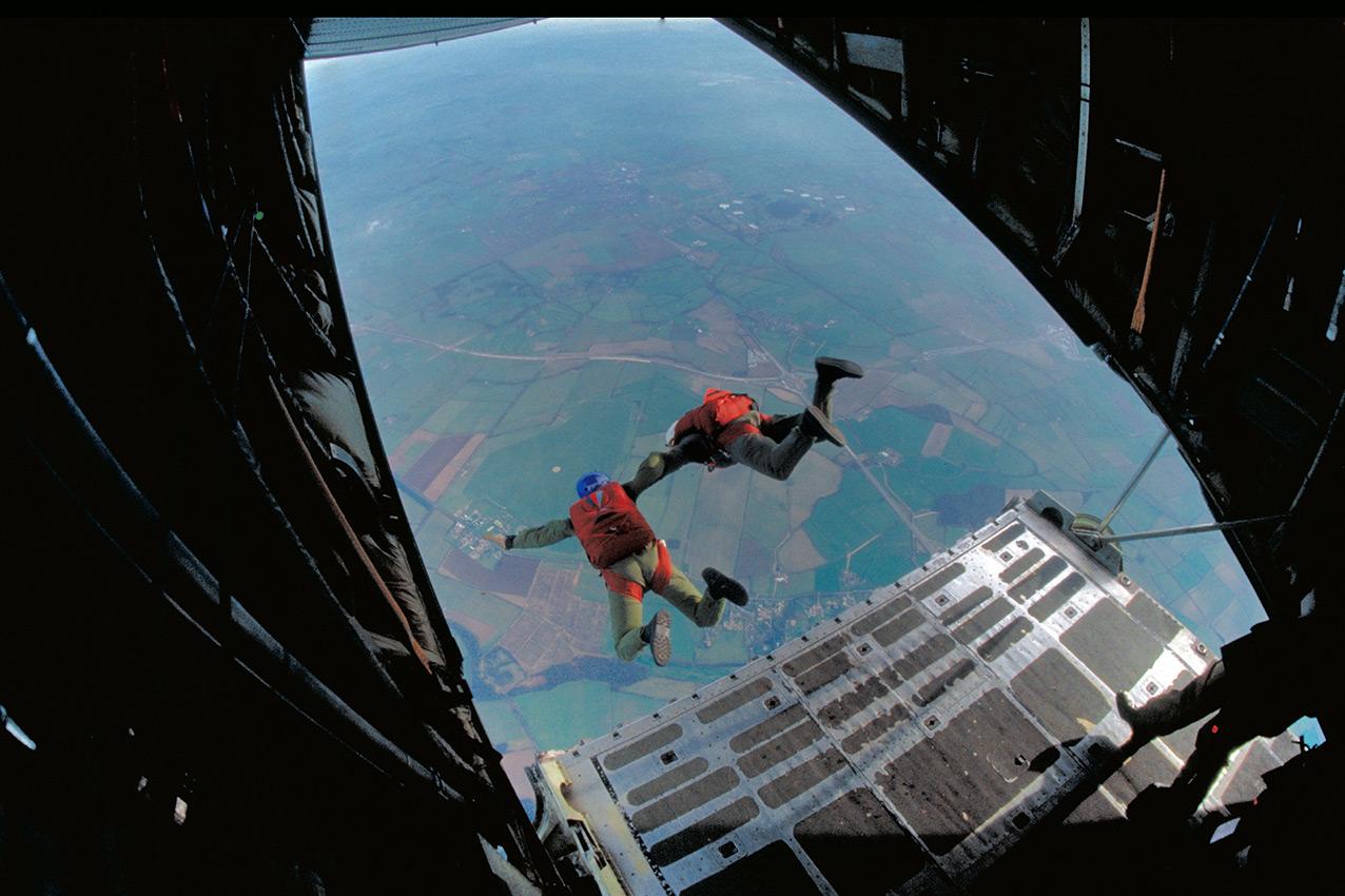MFF training, RAF Weston-on-the-Green, UK