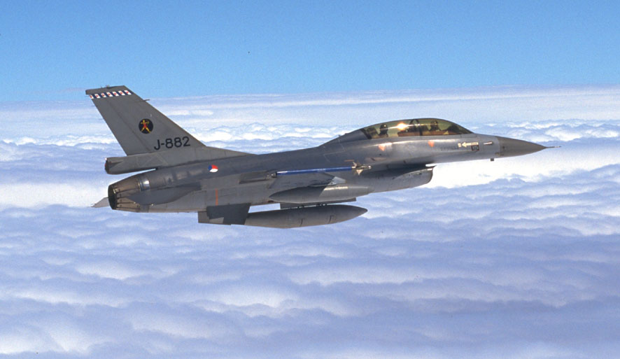 F-16 Fighting Falcon of the RNLAF