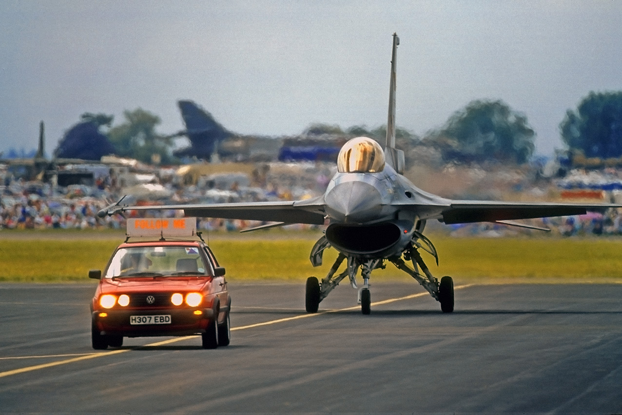 F-16 Fighting Falcon at the RIAT
