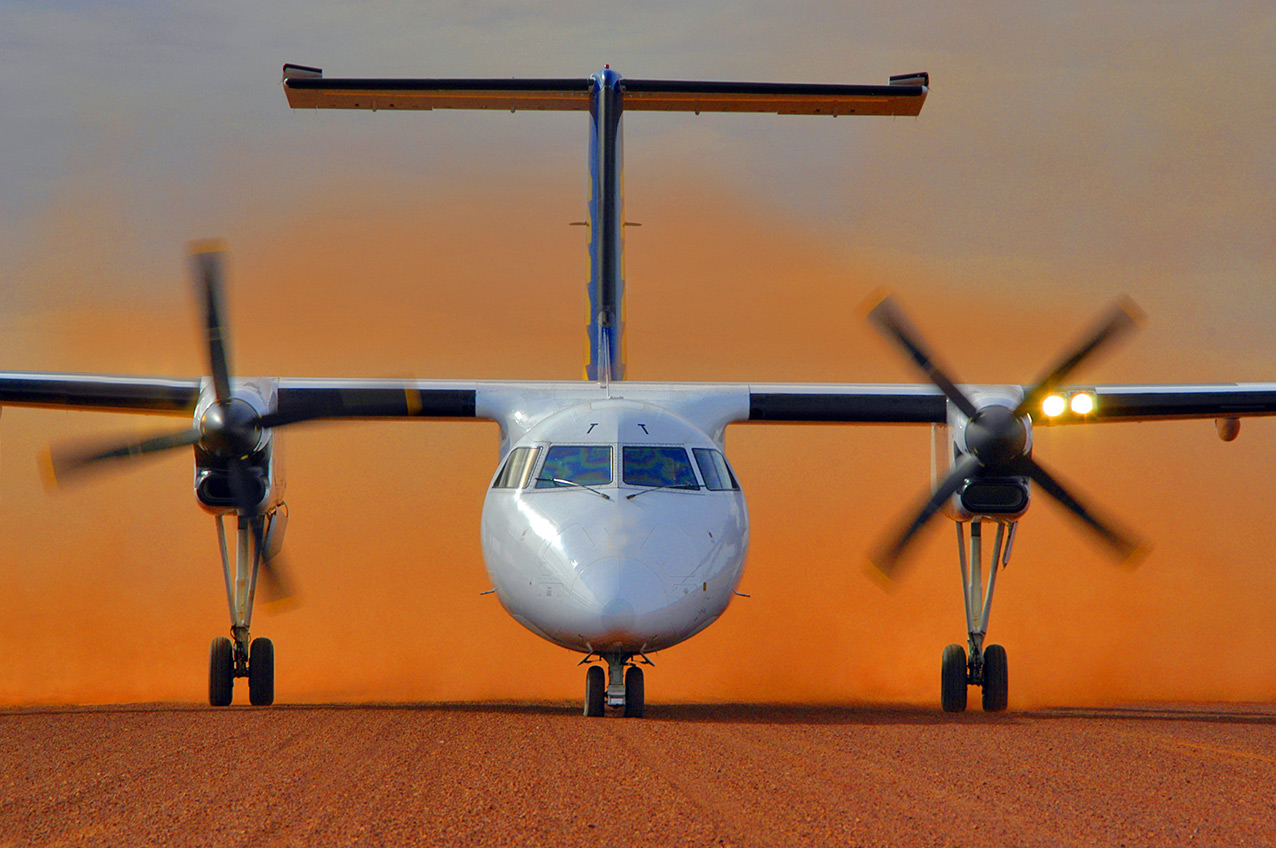 DHC Dash-8 from Skippers Aviation