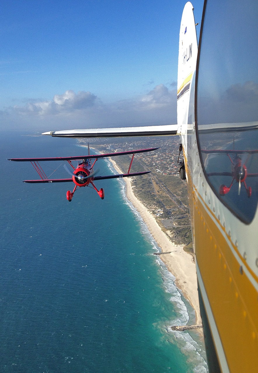 My point of view from the Cessna 170, taken with an iPhone 4S