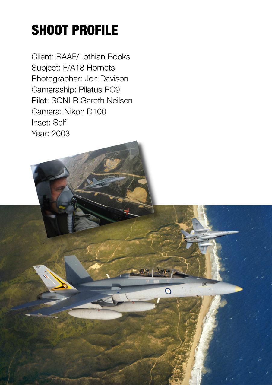 RAAF F/A18 Hornets