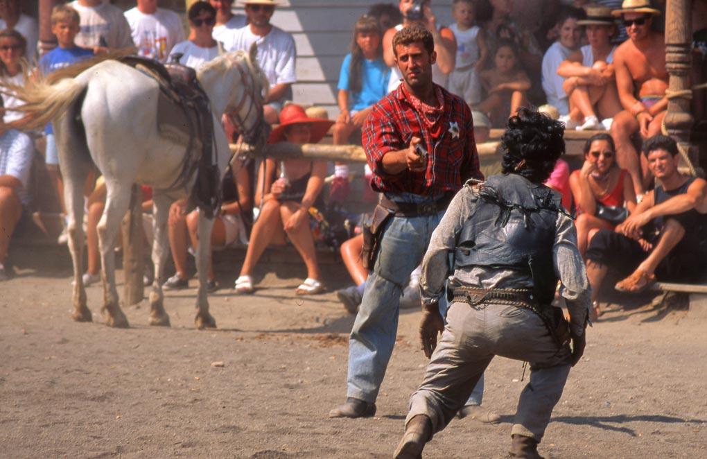 'Spaghetti western' movie set in Almeria