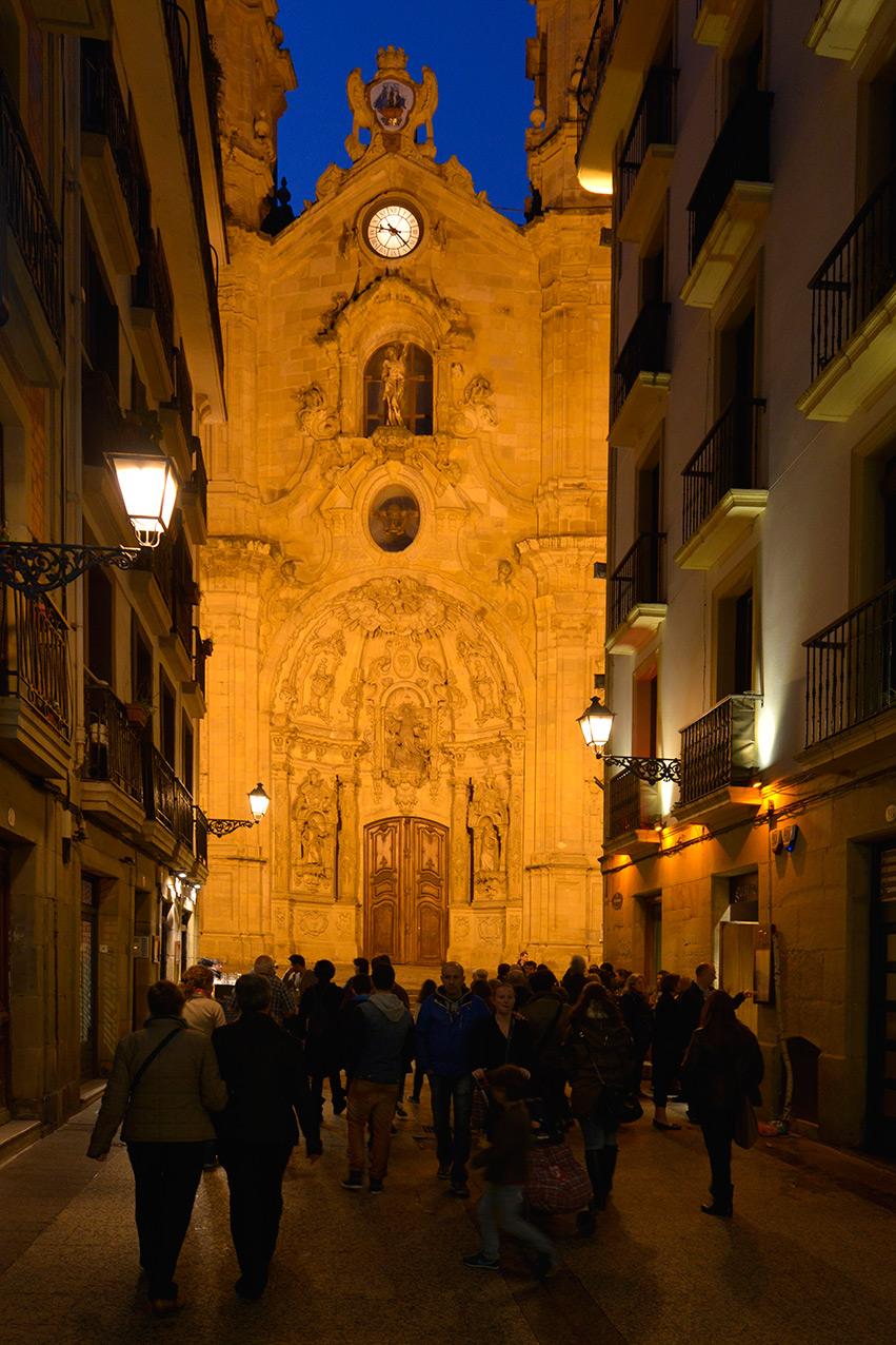 Basillica of st Mary, San Sebastian
