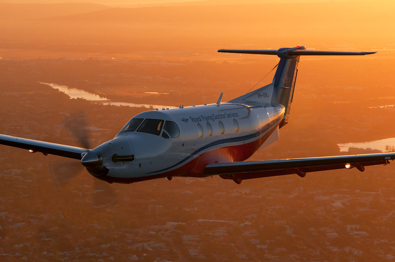 ROYAL FLYING DOCTOR PC12NG