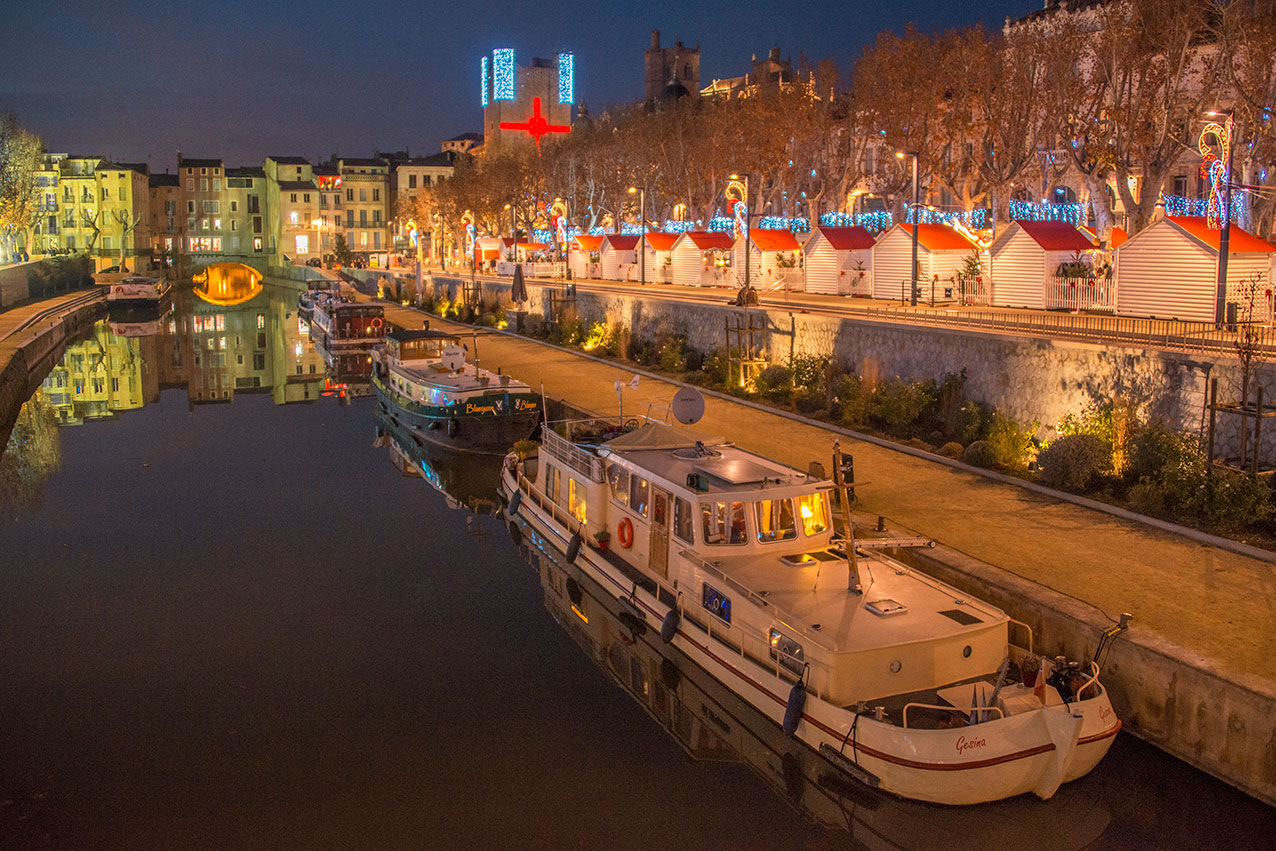 The canal, Narbonne