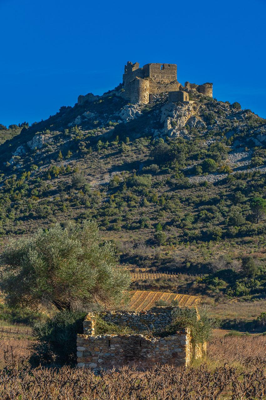 Aguilar Castle, Occitanie, France
