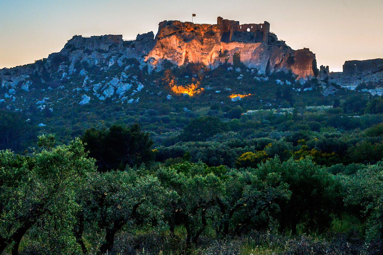 Chateau les Baux, Provence