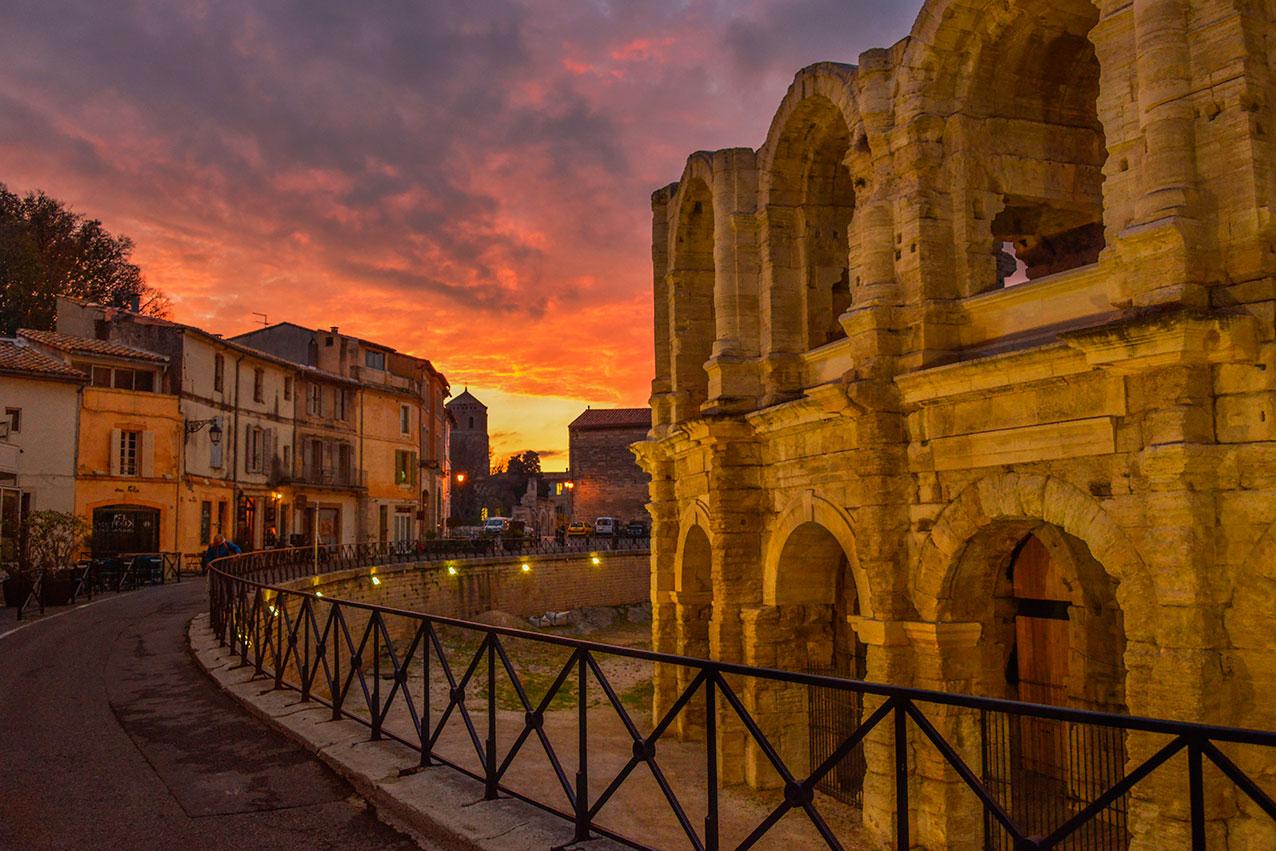 Roman amphitheatre, Arles, Provence