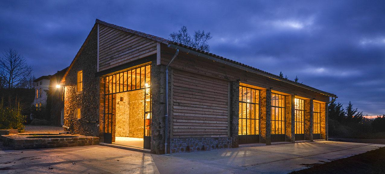 The barn / artists workshop