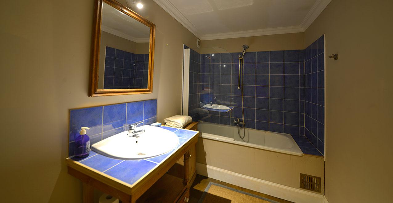 Upstairs bathroom in the Farmhouse