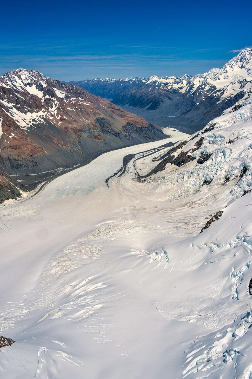 Glacier, Mt Cook National Park