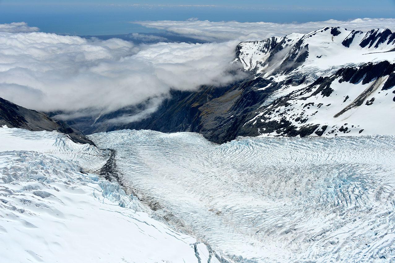 Franz Joseph Glacier, Mt Cook National Park, New Zealand